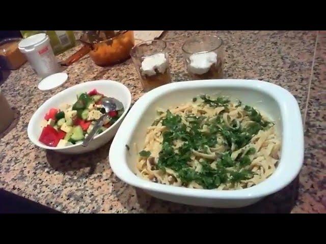 Recipe Club - Vegan Carbonara / Apple Pie Parfaits