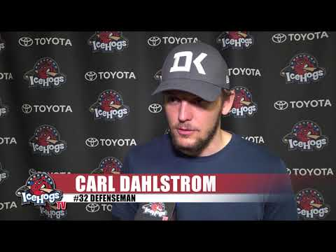 2018 IceHogs Exit Interview: Carl Dahlstrom