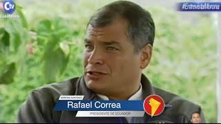 Presidente Correa advierte de nuevo 'Plan Cóndor' contra gobiernos progresistas