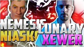 LUNARY XEWER VS NEMESIS NIASKO - BUILDFIGHT EN MM solo vs duo