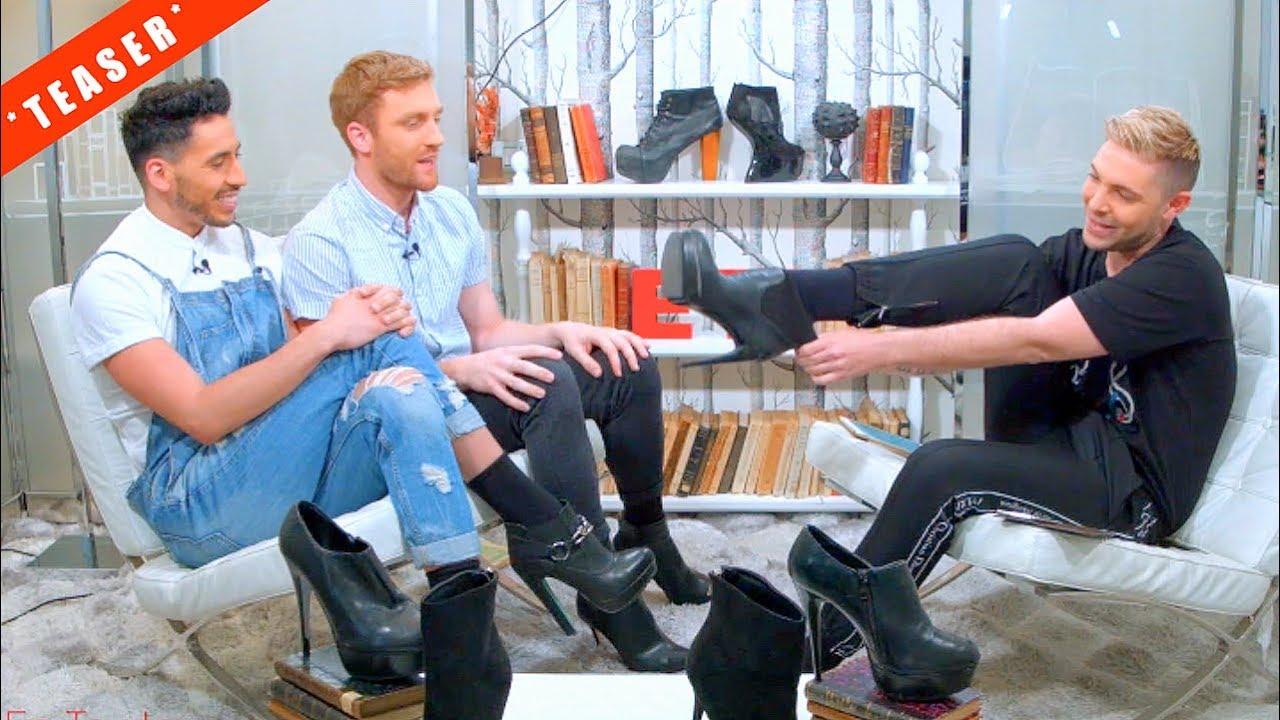 Virgin Brothers: Des hommes en talon pour 1 interview haut perchée ! (TEASER)