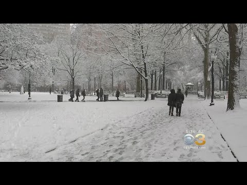 CBS3 Weather Team Predicts 30-40 Inches Of Snow This Winter