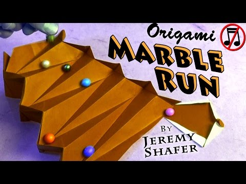 Origami Marble Run (no music)