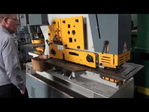 140 Ton Kingsland Hydraulic Ironworker (Dual Operator)