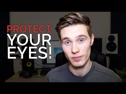 Is Music Production Damaging Your Eyes?