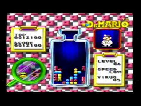 Tetris and Dr  Mario SNES