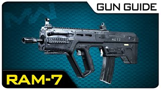 RAM-7 Stats & Best Class Setups! | Modern Warfare Gun Guide #16