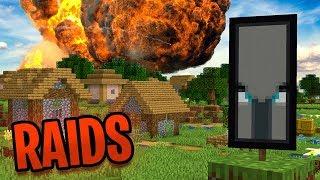 The NEW Minecraft Village Raid