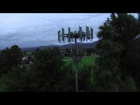 Cell Tower in the Santa Clara Valley