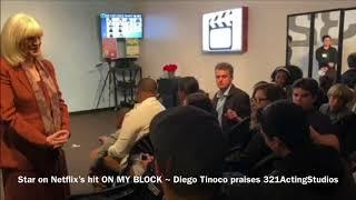 Star Diego Tinoco praises 3-2-1 Acting Studios