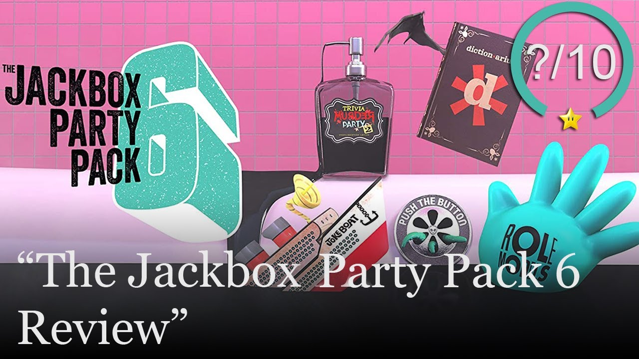 The Jackbox Party Pack 6 Review [PS4, Switch, Xbox One, & PC] (Video Game Video Review)