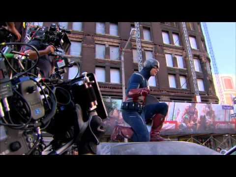 The Avengers - Behind the Scenes [part2]