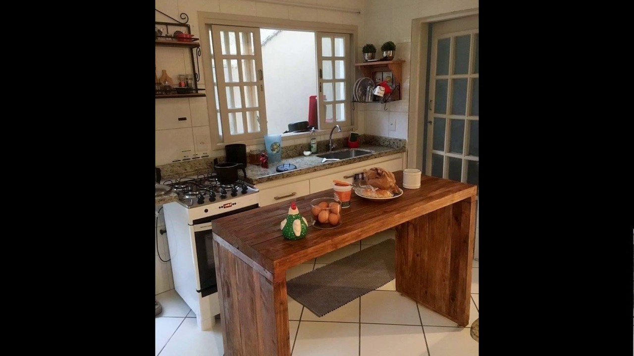 Super Cozinha Com Madeira De Demoli O Pj55 Ivango