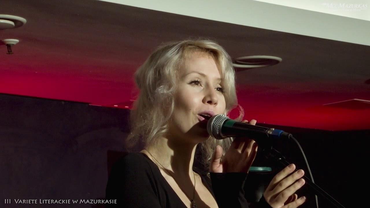 Variete literackie 3 Hotel Mazurkas - Marek Majewski prezentuje Beatę Kawczyńską