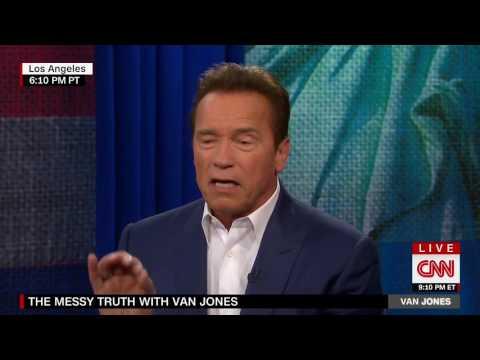 Arnold Schwarzenegger on his relationship with Trump - Van Jones' Messy Truth