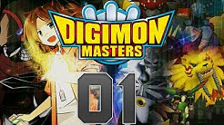 Let's Play Digimon Masters Online - (german/Deutsch) - Part 1 - Gaomon ich wähle dich !