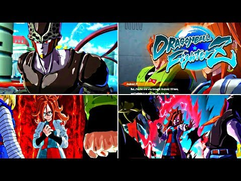Dragon Ball FighterZ Android 21 Arc Chapter 5 Part 1 Gameplay Commentary PS4