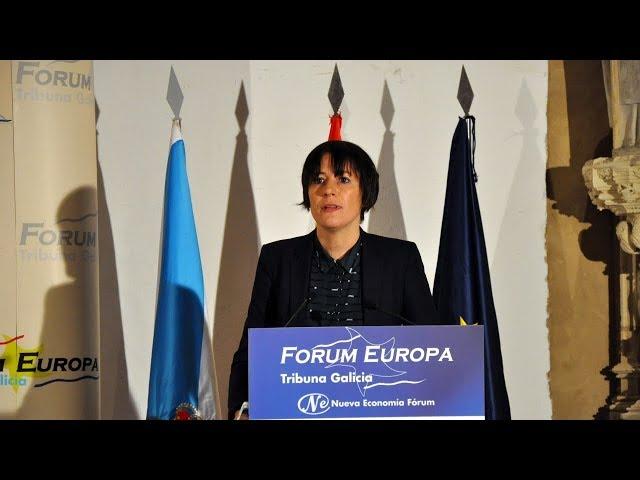 Intervención de Ana Pontón na conferencia organizada por Fórum Europa