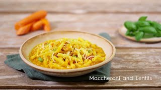 Maccheroni and Lentils | Easy cooking with Barilla | Chef Ranveer Brar