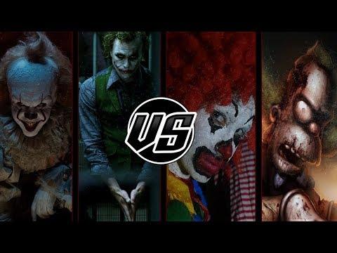 Pennywise & Joker VS Ronald McDonald & Krusty | Kinox ft Jay-F, Doblecero y BTH Games