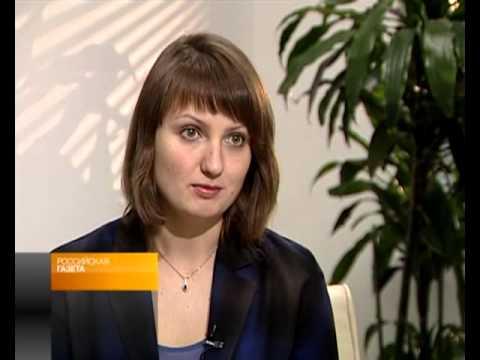 Юлия Кирпикова в эфире телеканала Россия-24