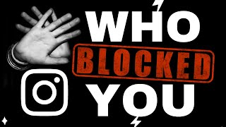Find Who Blocked You on Instag…