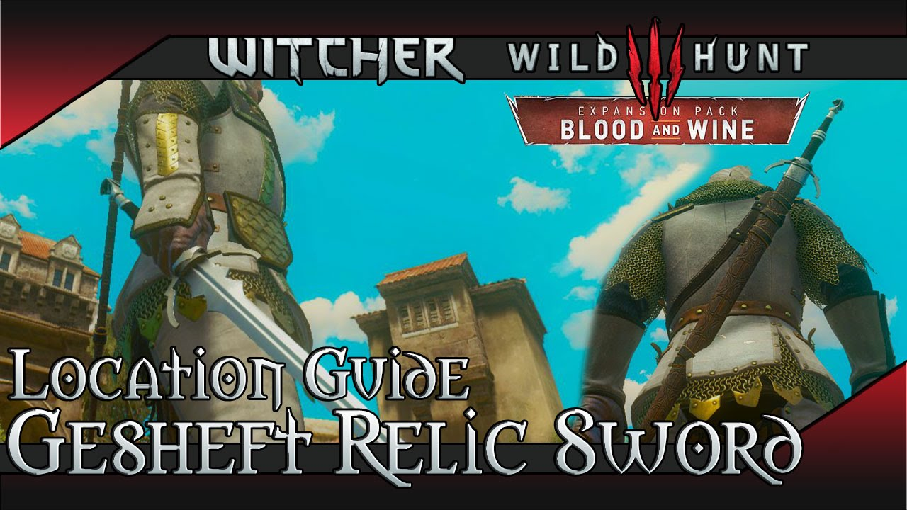 The Witcher 3: Blood and Wine Guide – Armor Sets, Diagram