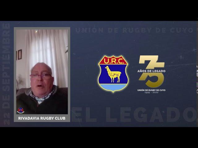 URC 75 AÑOS DE LEGADO - SALUDOS RIVADAVIA RC