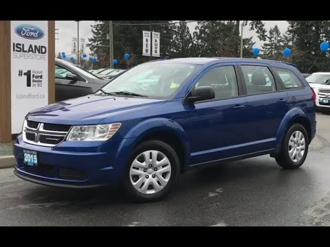 2015 Dodge Journey W/ Keyless Entry, CD Review| Island Ford