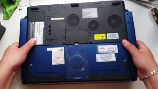 мега крутой ноутбук Toshiba P25 - Раритет