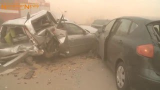 08.04.2016: Trauer fünf Jahre danach: Sandsturm-Unfall auf A 19 bei Kavelstorf forderte 8 Tote