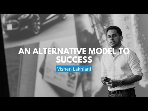 An Alternative Model To Success | Vishen Lakhiani
