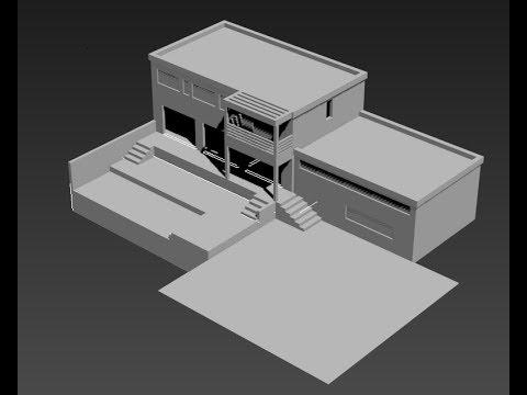 plan maison 3d autocad
