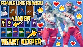"*NEW* ""Female Love Ranger"" Skin CONCEPT Showcase With Leaked & Best Fortnite Emotes..!"