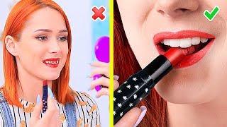 10 Kendin Yap Tarzı Yenilebilir Makyaj Malzemesi / 10 Eğlenceli Şaka