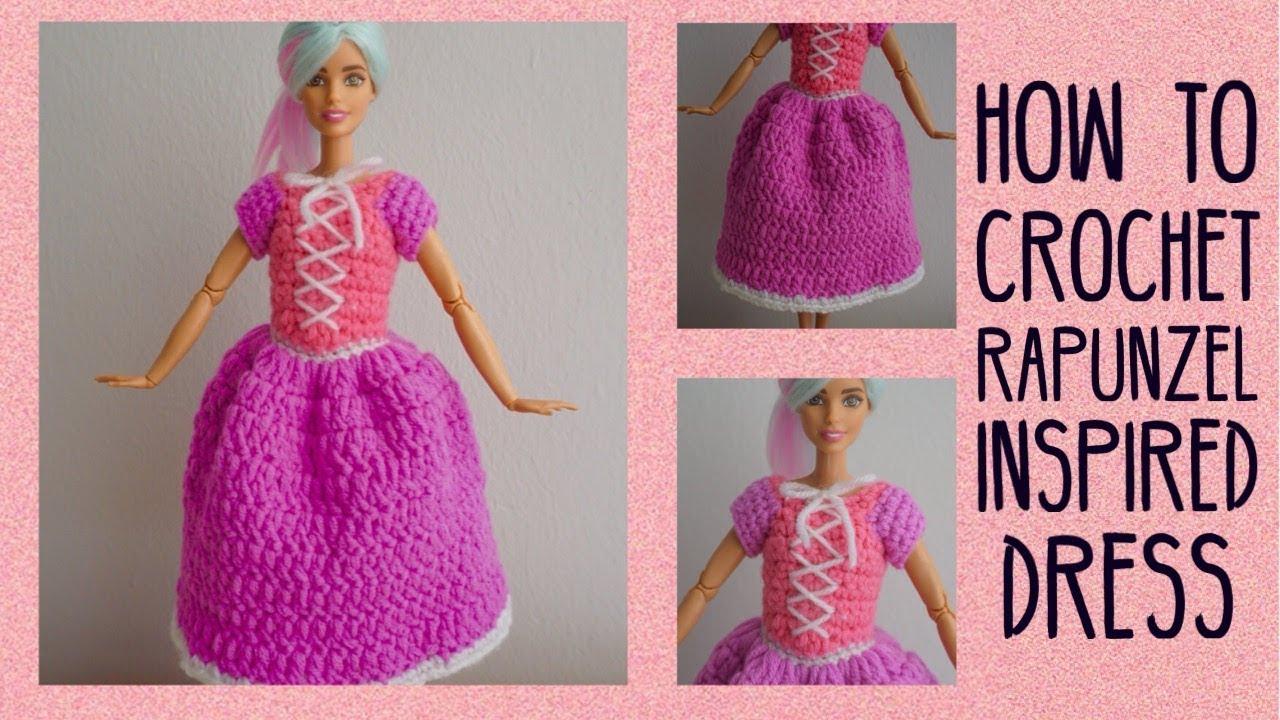 Tangled Inspired Crochet Amigurumi Rapunzel Doll by ... | 720x1280