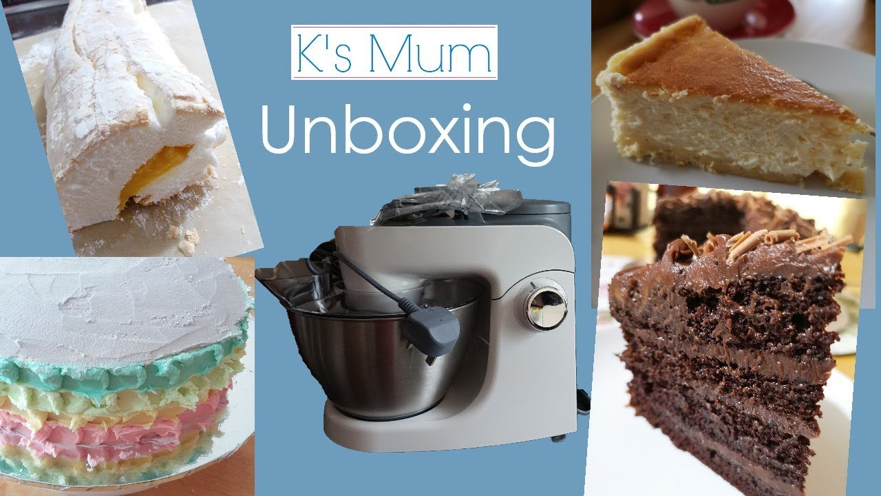kenwood multione khh300wh stand mixer unboxing k s mum
