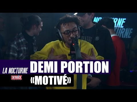 Youtube: Demi Portion « Motivé » en live #LaNocturne