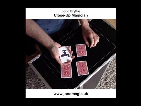 Jono Blythe, Close-Up Magician: Whiskey & Water Card Trick