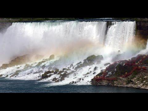 Nature Sounds of Niagara falls | Horseshoe Falls, American Falls, Bridal Veil Falls,