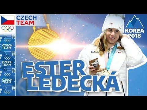 ESTER LEDECKÁ: Olympijské zlato, olympijské emoce...