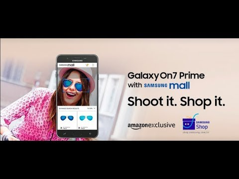 Samsung Galaxy On7 Prime with Samsung Mall