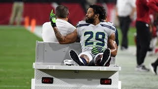 Earl Thomas FLIPS OFF ENTIRE Seahawks Bench After Injury! (Yikes)