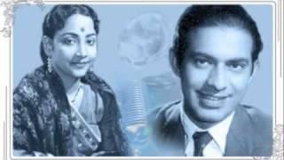 Geeta Dutt , Talat : Kaise rokoge ayse toofaan ko : Film - Anand Math (1952)