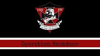 Operation Backdoor - Foxhole - Jade Cove - 82DK