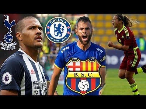 Siguen rumores, Rondón al Chelsea o Tottenham | Deyna al Mundial Rusia | Jhon al Barcelona SC
