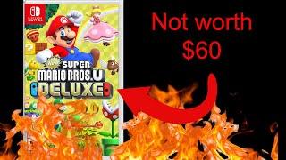 Why New Super Mario Bros U Deluxe Shouldn't be $60