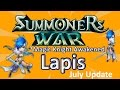 Summoners War - Awakened Water Magic Knight Lapis and July Update