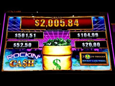 🚨New Slot Alert🚨 Rockin' Cash - Max Bet Bonus! Freeplay Session @ San Manuel Casino