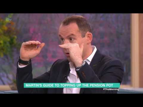 Martin's Guide to Topping Up the Pension Pot | This Morning